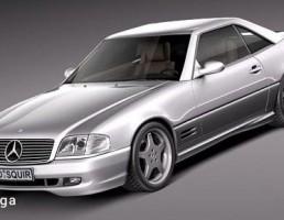 مرسدس مدل SL500 سال 1989 تا 2001