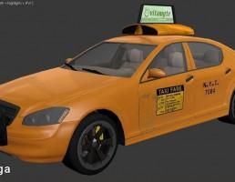 ماشین تاکسی شهری