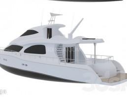 قایق بادبانی مدرن