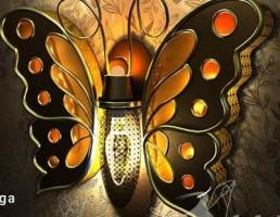 شب خواب به شکل پروانه