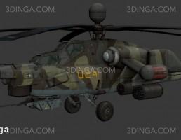 هلیکوپتر نظامی MI28Havoc