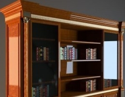 کتابخانه ( قفسه کتاب )
