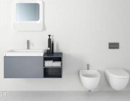 آینه + روشویی + توالت فرنگی