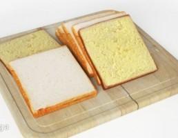 تخته برش + برش نان تست