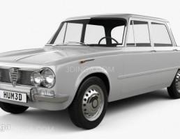 ماشین آلفا رومئو مدل Giulia سال 1962