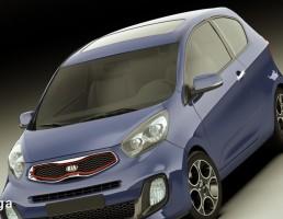 ماشین کیا مدل Picanto Sport سال 2012