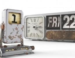 ساعت و تقویم های قدیمی