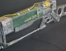 اسلحه Fallout AER9 Laser