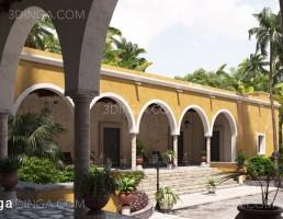 صحنه خارجی از حاشیه های مکزیکی