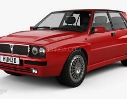 ماشین Lancia Delta Integrale سال 1992