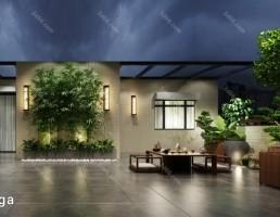 حیاط خلوت سبک آسیای جنوب شرقی