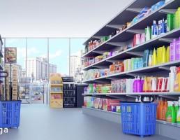 نمای داخلی فروشگاه