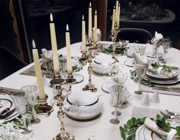 میز غذا + سرویس پذیرایی کلاسیک