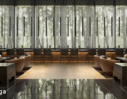 صحنه داخلی لابی هتل