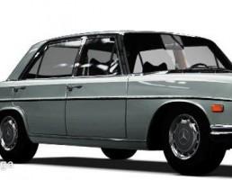 ماشین مرسدس بنز مدل 300 SEL 6.3 سال 1972