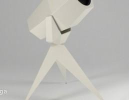 مدل سه بعدی تلسکوپ