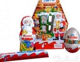 بسته شکلات کریسمس