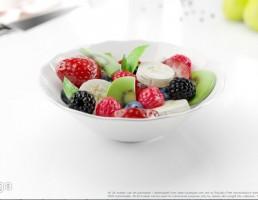 ظرف میوه خردشده