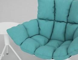 صندلی راحتی + میز عسلی