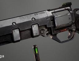 اسلحه Plasma Revolver