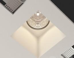مدل لامپ سقفی مربعی