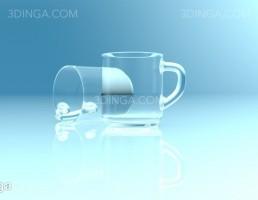 لیوان دسته دار ساده