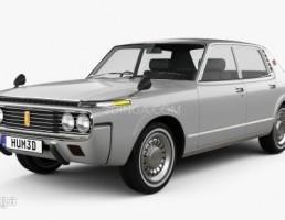 ماشین تویوتا مدل Crown sedan سال 1971