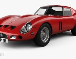 ماشین فراری مدل  250 GTO سال 1962
