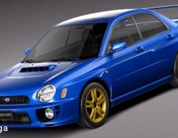 ماشین Subaru