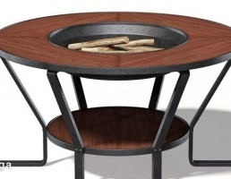میز کباب فلزی