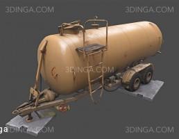 مخزن MZHT-10 (برای حمل آب و کودمایع آلی)