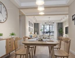 آشپزخانه و غذاخوری  سبک شمالی 15
