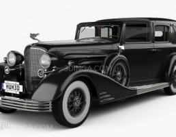 ماشین کادیلاک مدل V-16 سال 1933