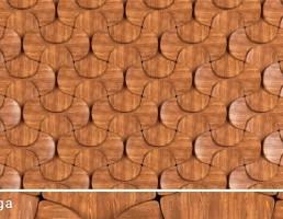 پانل چوبی
