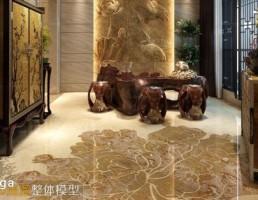 اتاق پذیرایی سبک چینی