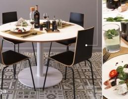 ست میز و صندلی نهارخوری مدرن