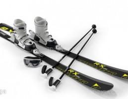 لوازم ورزش اسکی روی یخ