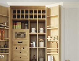 کابینت وسایل آشپزخانه