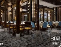 صحنه داخلی رستوران چینی
