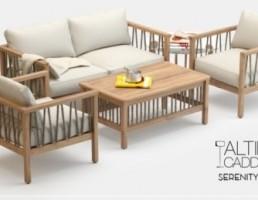 مجموعه مبل چوبی Altinci Cadde