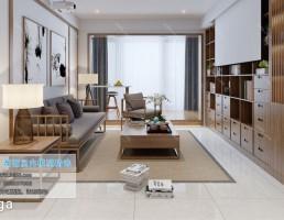 اتاق نشیمن کلاسیک سبک ژاپنی