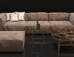 مدل ست مبل و کاناپه راحتی HENGE S-Perla