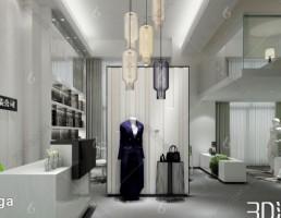 صحنه داخلی مزون لباس