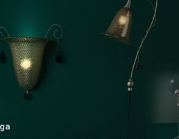 آباژور + شب خواب + چراغ دیواری