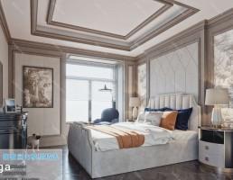 اتاق خواب سبک اروپایی