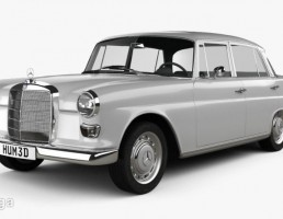 ماشین مرسدس بنز مدل W110 سال 1966