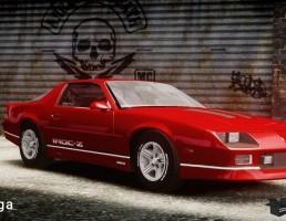 ماشین شورلت مدل Camaro IROC-Z سال 1990