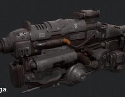 تفنگ قدیمی پالس