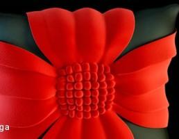 کوسن به شکل گل