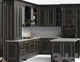 آشپزخانه کلاسیک ایتالیایی